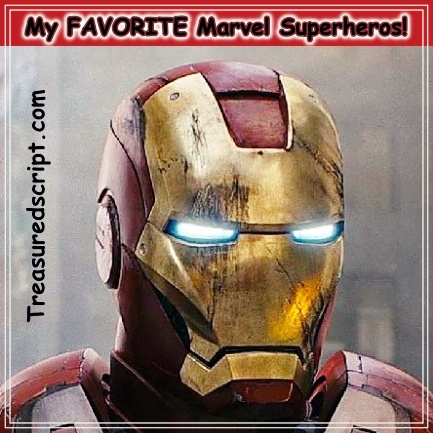 My Favorite Marvel Superheroes!
