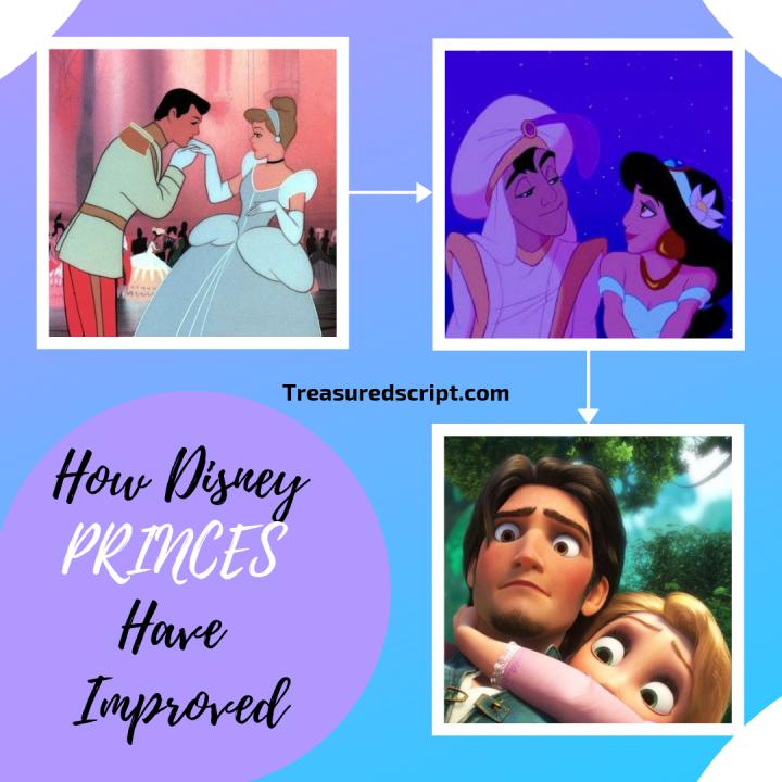 How Disney PRINCES HaveImproved