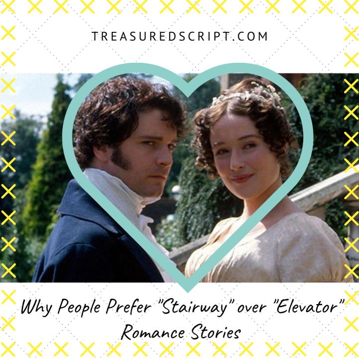 """Why People Prefer """"Stairway"""" over """"Elevator"""" RomanceStories"""